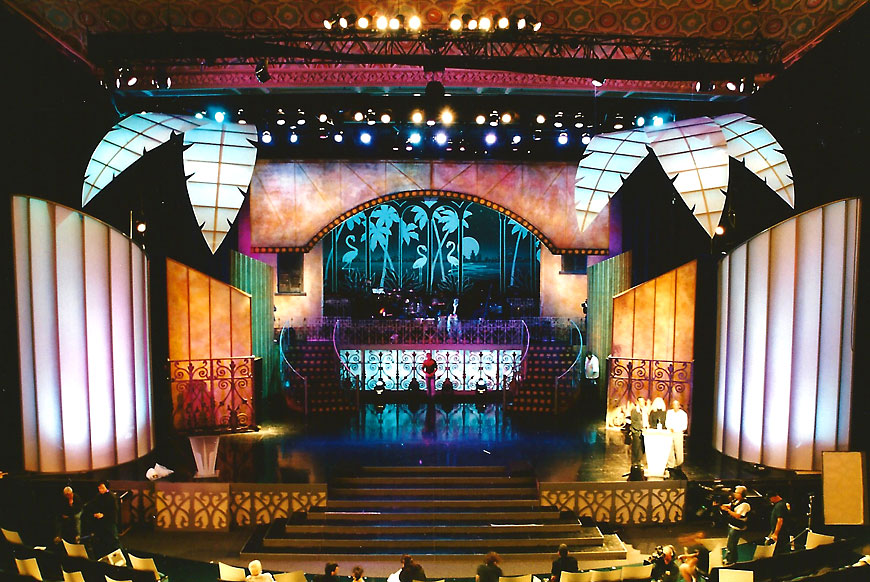 Alma Awards; set design by Global Entertainment Industries in Burbank, CA