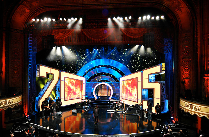 Comedy Central Last Laugh; set design by Global Entertainment Industries in Burbank, CA