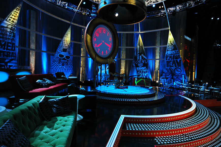 Comedy Central Roast 2007; set design by Global Entertainment Industries in Burbank, CA