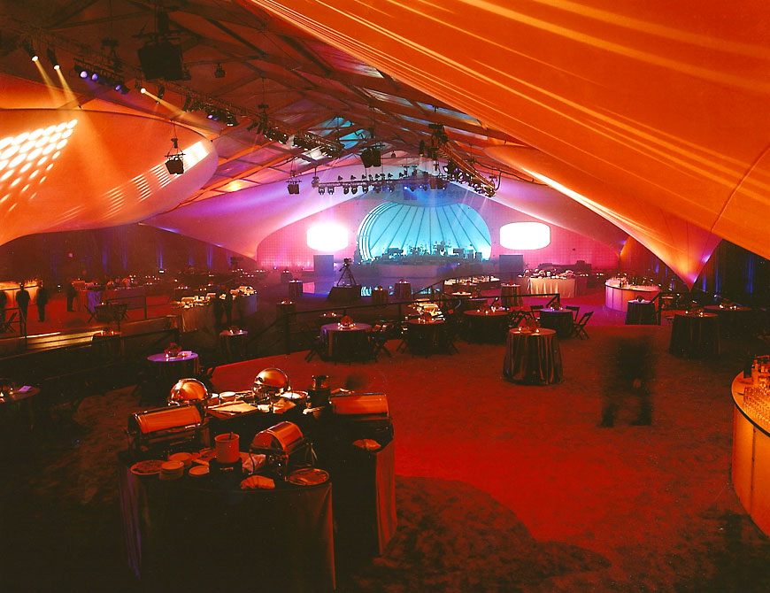 Bank of America Corporate Party; set design by Global Entertainment Industries in Burbank, CA