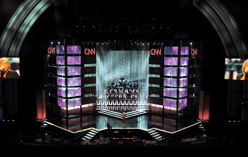 CNN Heroes; set design by Global Entertainment Industries in Burbank, CA