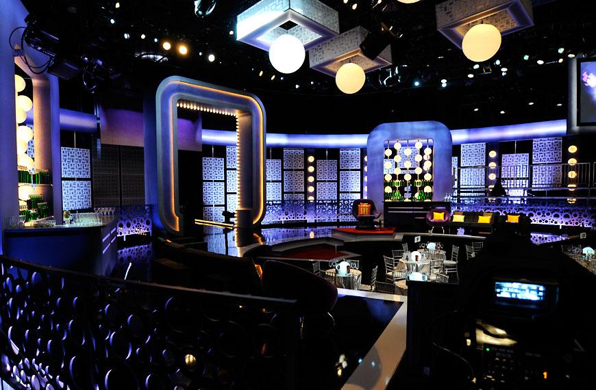 Joan Rivers Roast; set design by Global Entertainment Industries in Burbank, CA