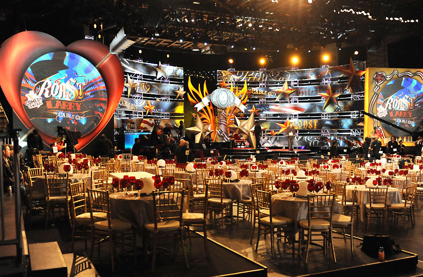 Larry The Cable Guy; set design by Global Entertainment Industries in Burbank, CA