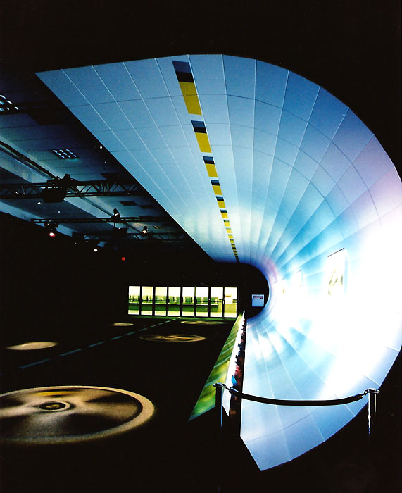 Porsche LA Auto Show; set design by Global Entertainment Industries in Burbank, CA