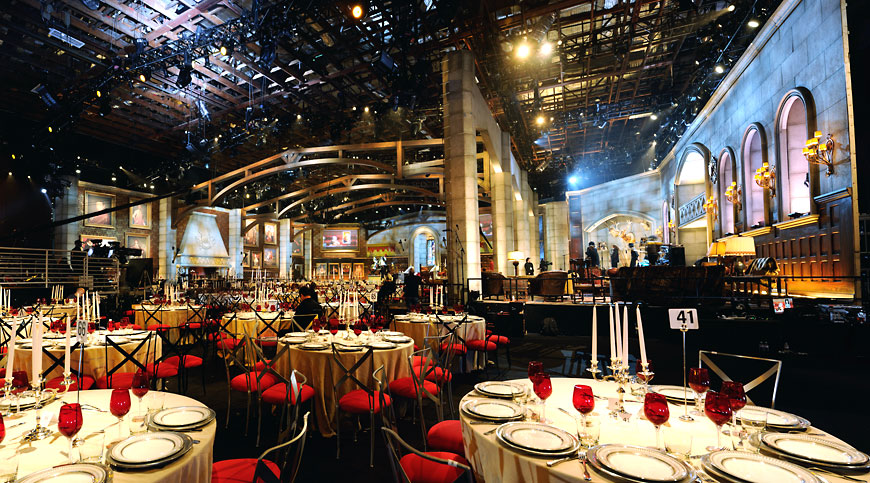 Guy's Choice 2012; set design by Global Entertainment Industries in Burbank, CA