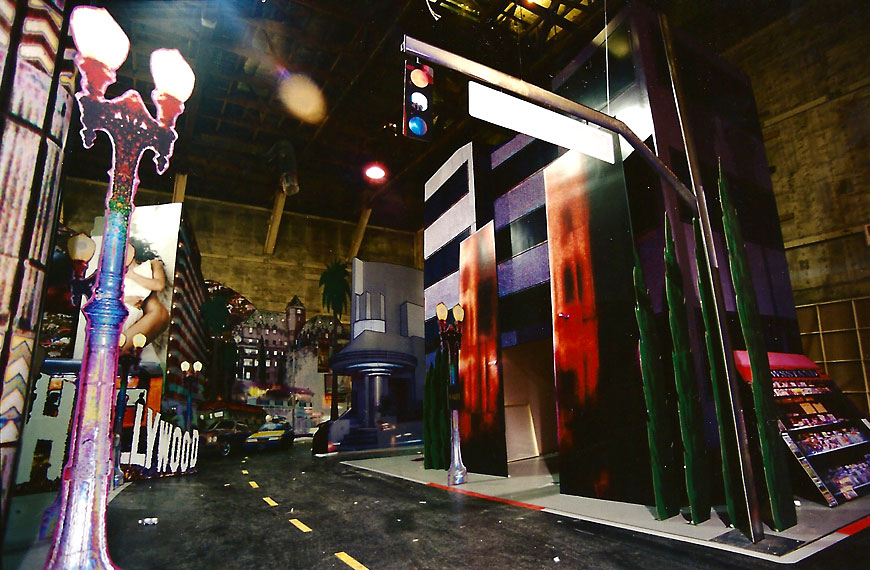 Janet Jackson, All For You music video; Set design by Global Entertainment Industries in Burbank, CA