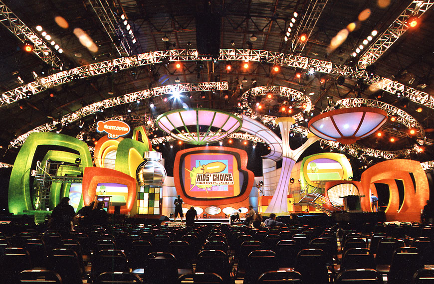 Kids Choice Awards 2003; set design by Global Entertainment Industries in Burbank, CA