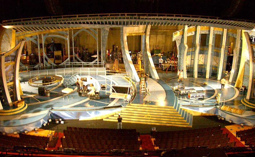 Latin Grammy 2005; set design by Global Entertainment Industries in Burbank, CA