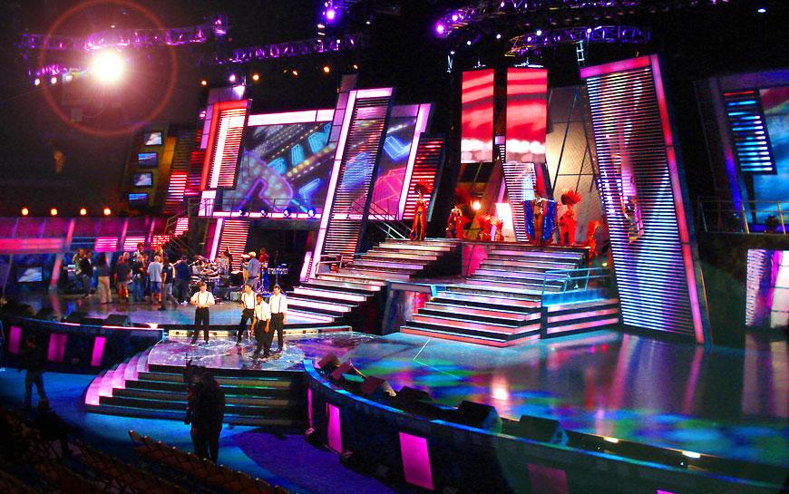 Latin Grammy 2007; set design by Global Entertainment Industries in Burbank, CA