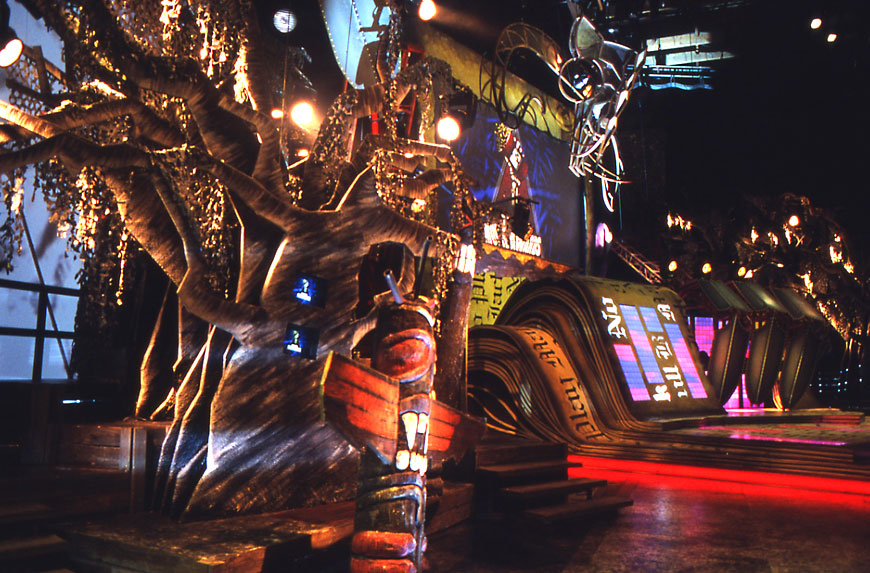 MTV Movie Awards; set design by Global Entertainment Industries in Burbank, CA