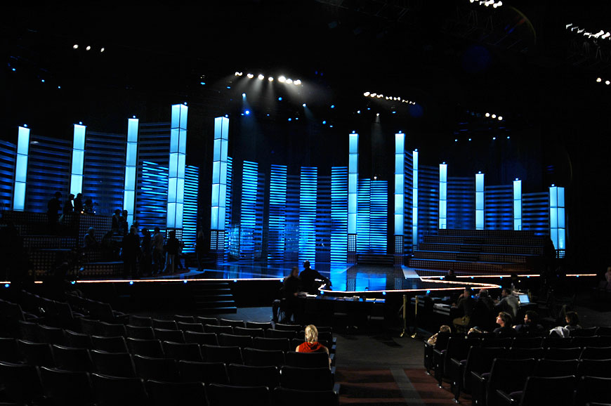 Miss America; set design by Global Entertainment Industries in Burbank, CA