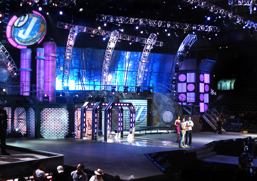 Premio Juventud 2008; set design by Global Entertainment Industries in Burbank, CA