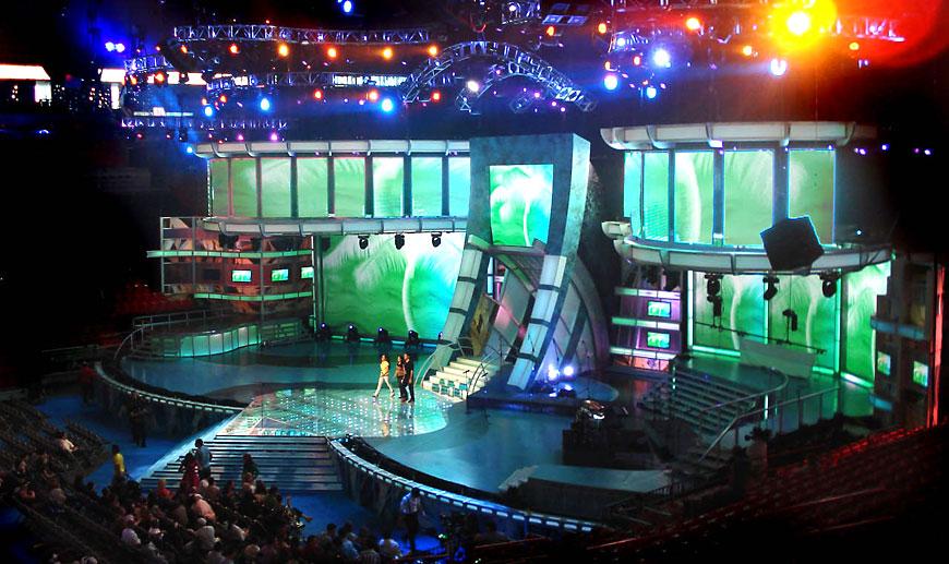 Premio Lo Nuestro 2007; set design by Global Entertainment Industries in Burbank, CA
