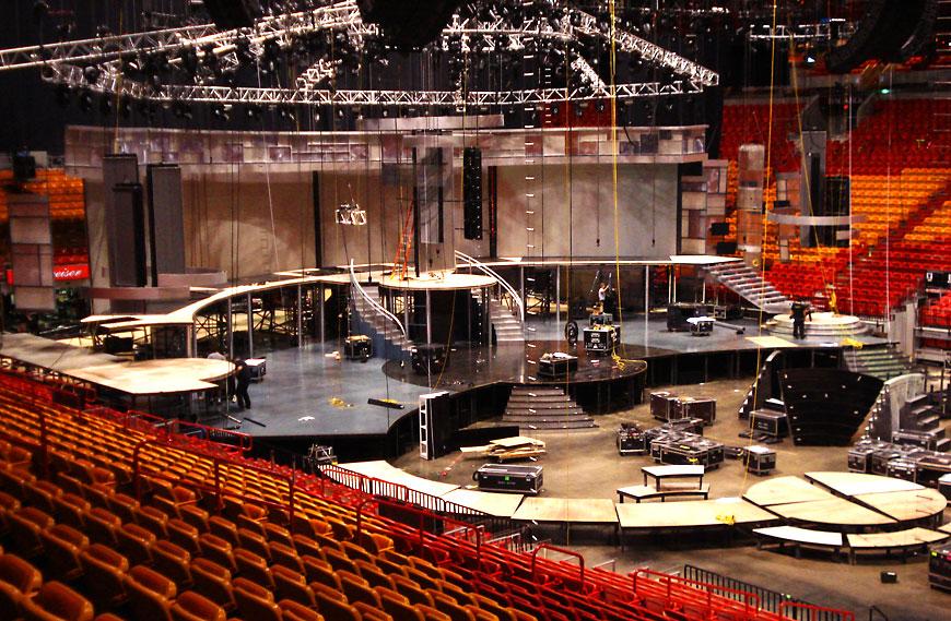 Premio Lo Nuestro 2008; set design by Global Entertainment Industries in Burbank, CA