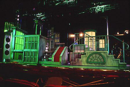 Princess Cruises; set design by Global Entertainment Industries in Burbank, CA