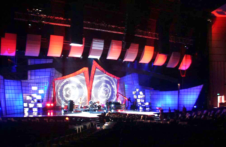 Radio Music Awards 2004; set design by Global Entertainment Industries in Burbank, CA