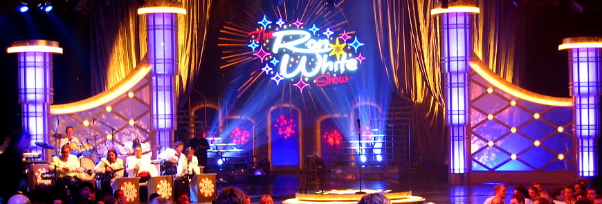 Ron White Show; set design by Global Entertainment Industries in Burbank, CA