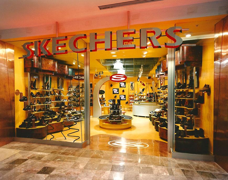 Skechers Footwear; retail theming by Global Entertainment Industries in Burbank, CA