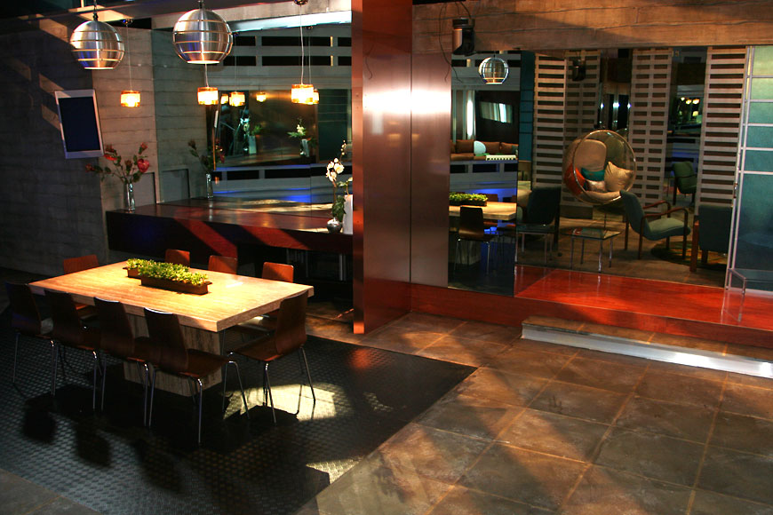 Unanimous; set design by Global Entertainment Industries in Burbank, CA