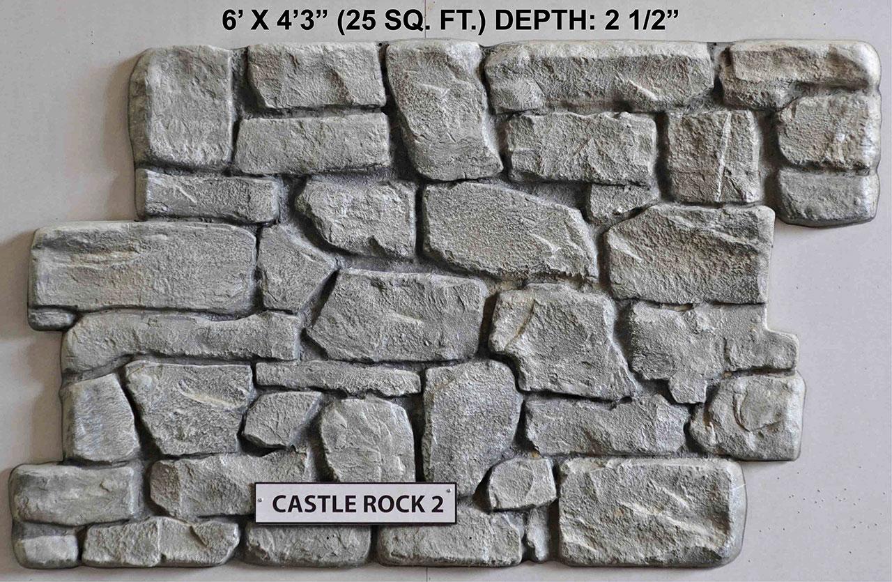 Vacuform Castle Rock Skin by Global Entertainment Industries, Burbank, CA