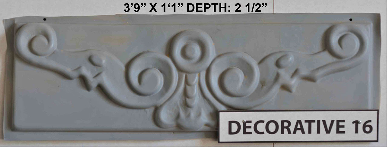 Vacuform Decorative Skin by Global Entertainment Industries, Burbank, CA