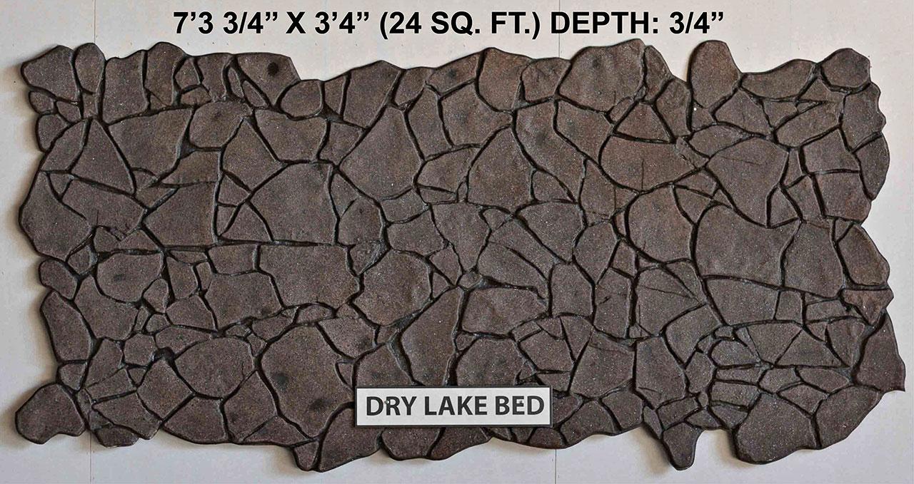 Vacuform Dry Lake Bed Skin by Global Entertainment Industries, Burbank, CA