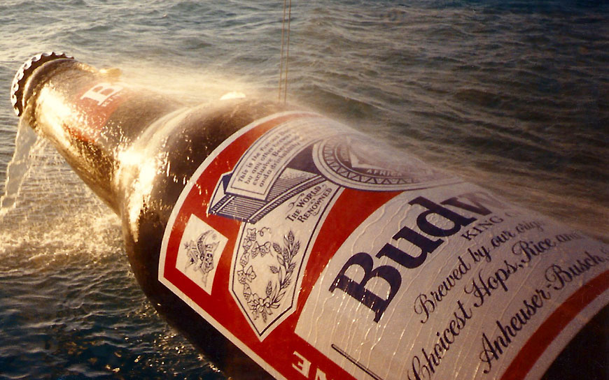 Budweiser commercial; set design by Global Entertainment Industries, Burbank, CA