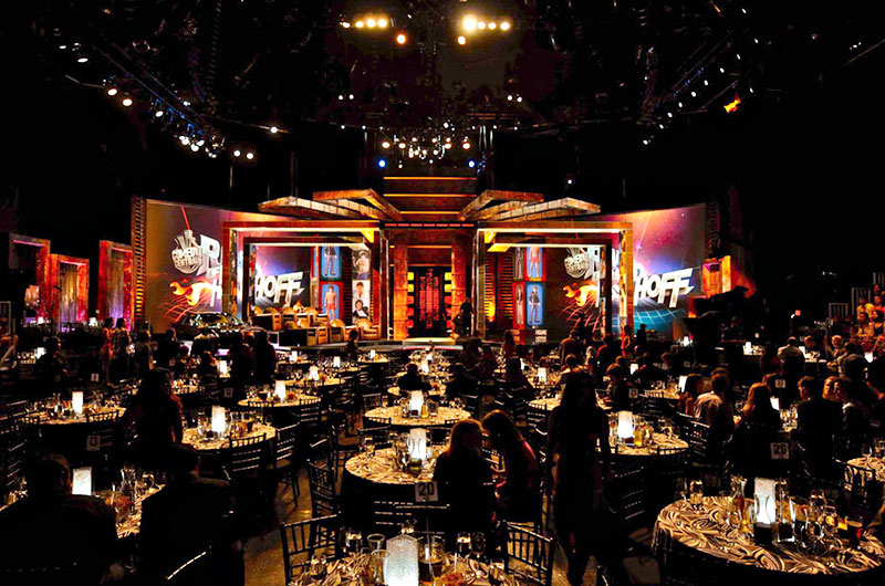 Comedy Central, David Hasselhoff Roast. Set design by Global Entertainment Industries in Burbank, CA.