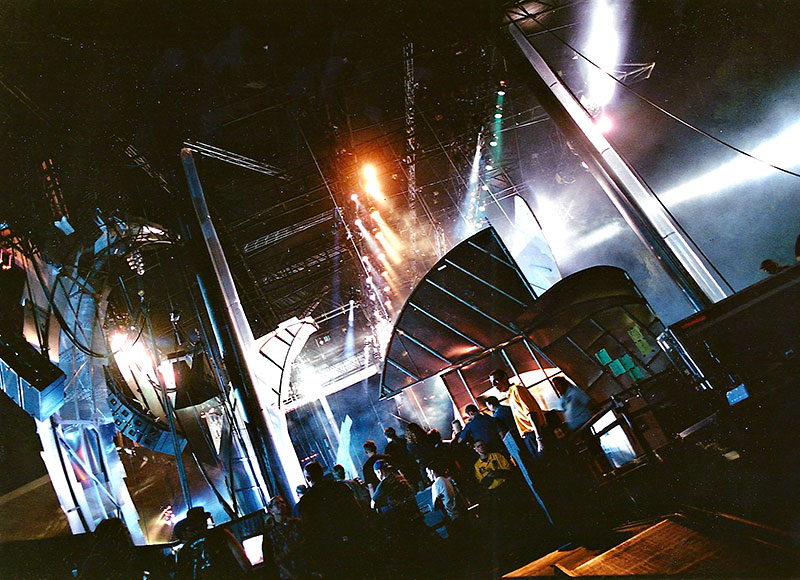 Experience Music Project. Set design by Global Entertainment Industries in Burbank, CA.