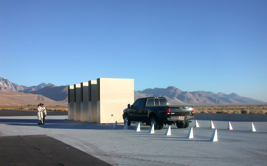Ford commercial; set design by Global Entertainment Industries, Burbank, CA