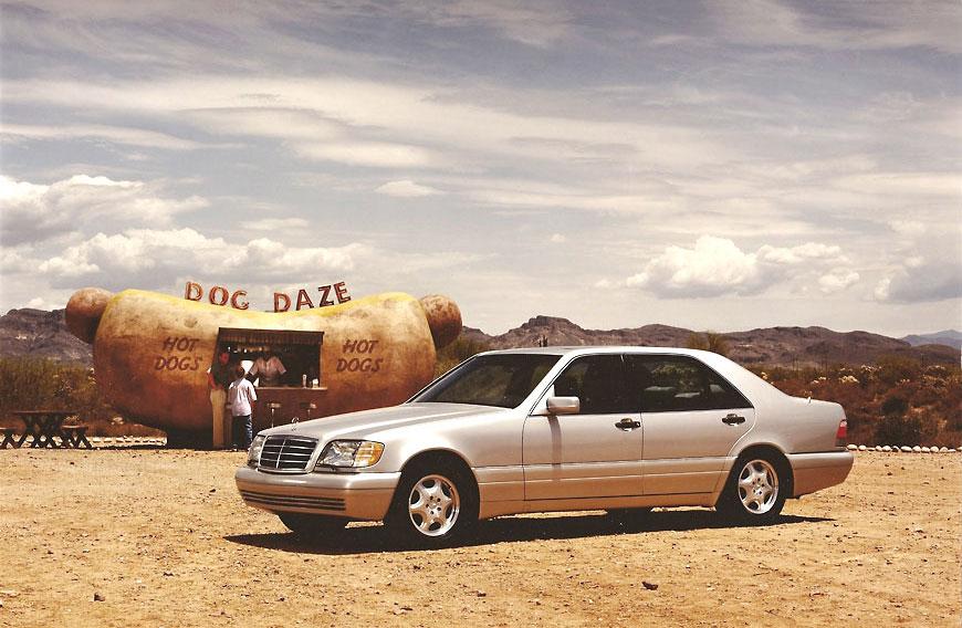 Mercedes-Benz commercial; set design by Global Entertainment Industries, Burbank, CA