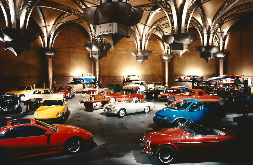 Nissan commercial; set design by Global Entertainment Industries, Burbank, CA