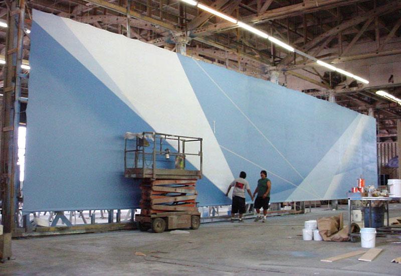 Paint Shop sample by Global Entertainment Industries, Burbank, CA.