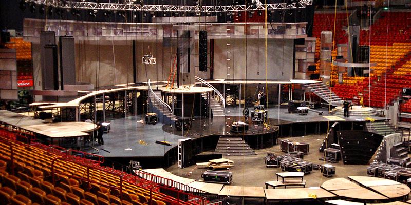Premio Lo Nuestro. Set design by Global Entertainment Industries, Burbank, CA.